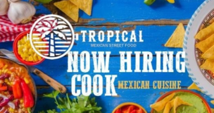 We are hiring! Line Cooks (Latin food) FULL TIME Join our team @TROPICAL